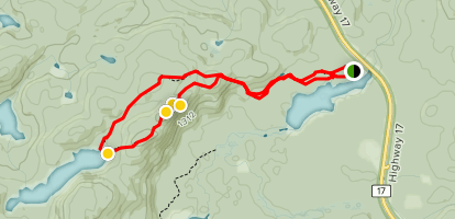 Peat Mountain Trail Map
