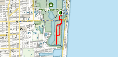 West Lake South Trail Map