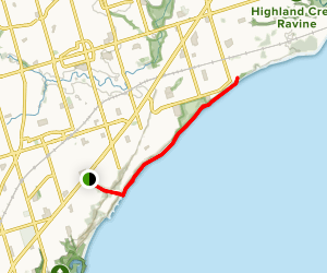 Doris McCarthy Trail Map
