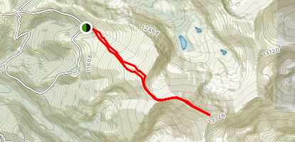 Culebra Peak Trail Map