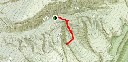 Darby Canyon Wind Cave Trail Map