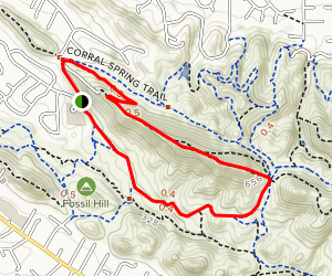 Ridge Top Loop Map