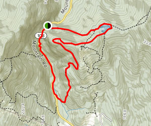 Sterling Pond and Long Trail Map