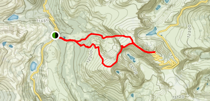 Mount Bierstadt, The Sawtooth, and Mount Evans Loop ... on coconino trail map, river to river trail map, jefferson trail map, idaho atv trail map, moosalamoo trail map, mount washington hiking trail map, red trail map, raven rock trail map, oak forest trail map, water trail map, helena trail map, targhee trail map, mccall trail map, highland trail map, owyhee trail map, wasatch trail map, weiser trail map, payette national forest trail map, phoenix trail map, land between the lakes trail map,