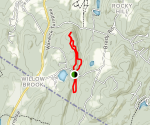 Creek, Fuller Mountain, and South Loop Map
