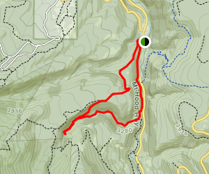 Tamanawas Falls via East Fork Trail #650 and Elk Meadows Trail #645 Map