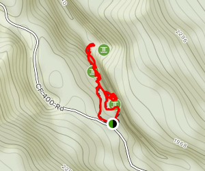 Butte Creek Falls Trail Map