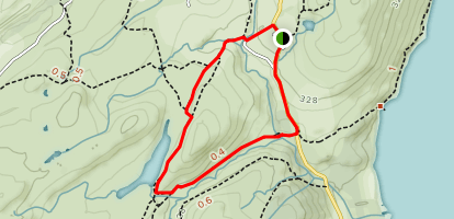 Torver Low Common to Throng Mass Reservoir Loop Map