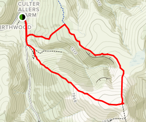 Coulter Fell Small Loop  Map