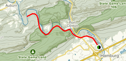 John Bartram Trail Map