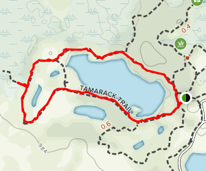 Tamarack Trail Map
