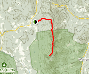 Mount Ellen and Mount Abraham via Jerusalem Trail Map