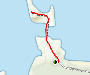 Cape Arago Lighthouse Trail [PRIVATE PROPERTY] Map