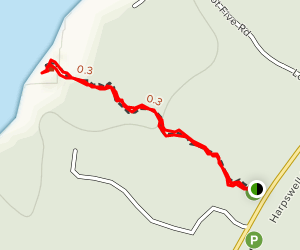 Wilson's Cove Trail Map