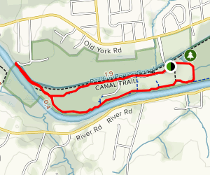 Canal Trail (Short Loop) Map