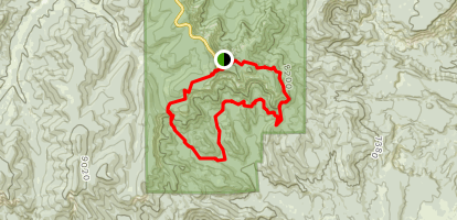 Riggs Spring Loop Trail (CLOSED) Map