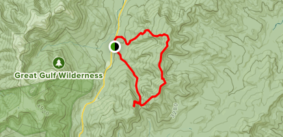 Carter Ridge and Wildcat Loop Map
