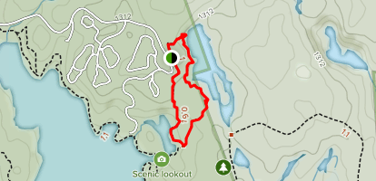 Bonnie's Pond Trail Map