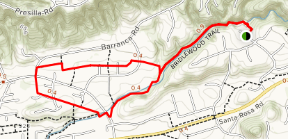 Bridlewood Trail Map