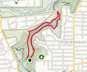 West and East Cohasset Loop Map