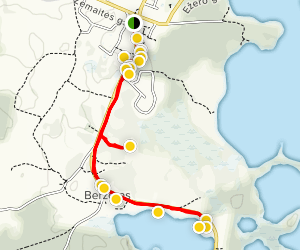 Plateliai Route Map