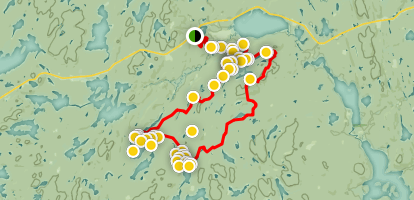 Highland Backpacking Trail Map