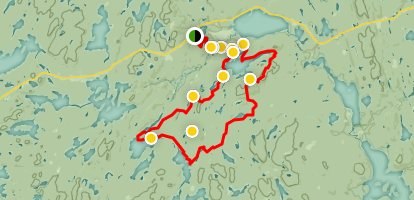 Algonquin Park Canoe Routes Map Pdf