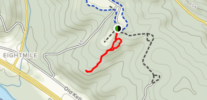 Hedgeapple Trail Map