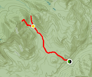 Vose Spur and Carragain Notch Map