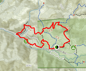 Pony Gate, Bald Mountain Trail, and Lower Bald Mountain Trail Loop Map