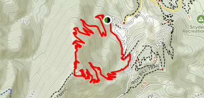 Yeti's and Moose Puddle Loop Map