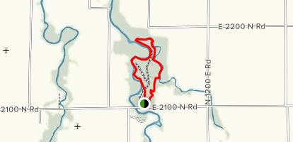 Humiston Woods Loop Map