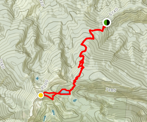Lolo Peak Map