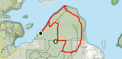 Hoypus Point Trail Map