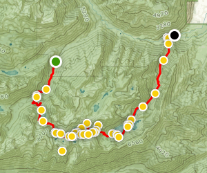 The Enchantments Trail Map