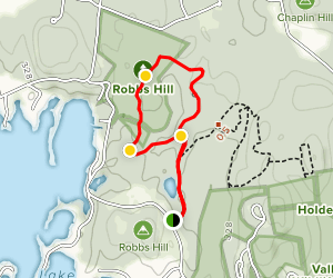 Robb's Hill Map