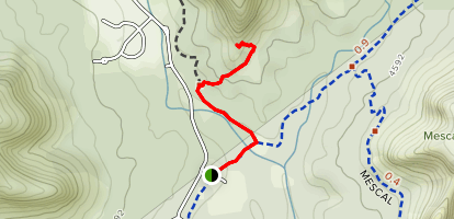 Boynton Vista Trail Map