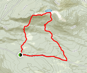 Tumbledown Mountain Trail Map