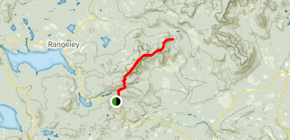 Appalachian Trail: Saddleback Mountain & Poplar Ridge Map