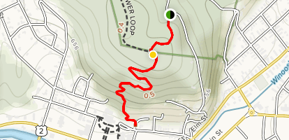 State House Trail Map