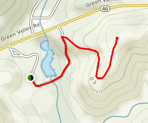 Lago Giuseppe Winery Trail Map