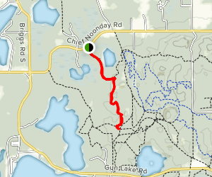 Chief Noonday Trail Map
