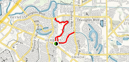 Oyster Creek Trail Map