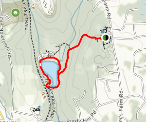 Wolfe Park Trail Map