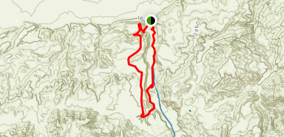Tule Elk Trail to El Camino Viejo Trail Map