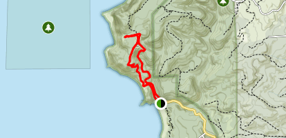 Clatsop Loop Trail from Indian Beach Map