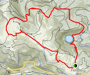 Feldberg Climb and Feldsee Lake  Map