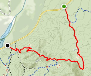 Twisted Sister Trail to Saguaro Trail Map