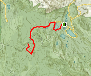 Lakes Basin Path to Pack Trail Map