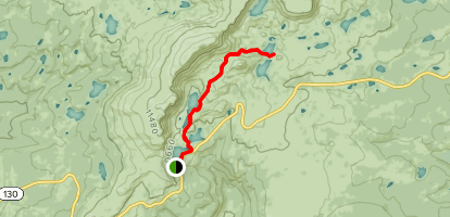 Lakes Trail to Medicine Bow Peak Trail Map